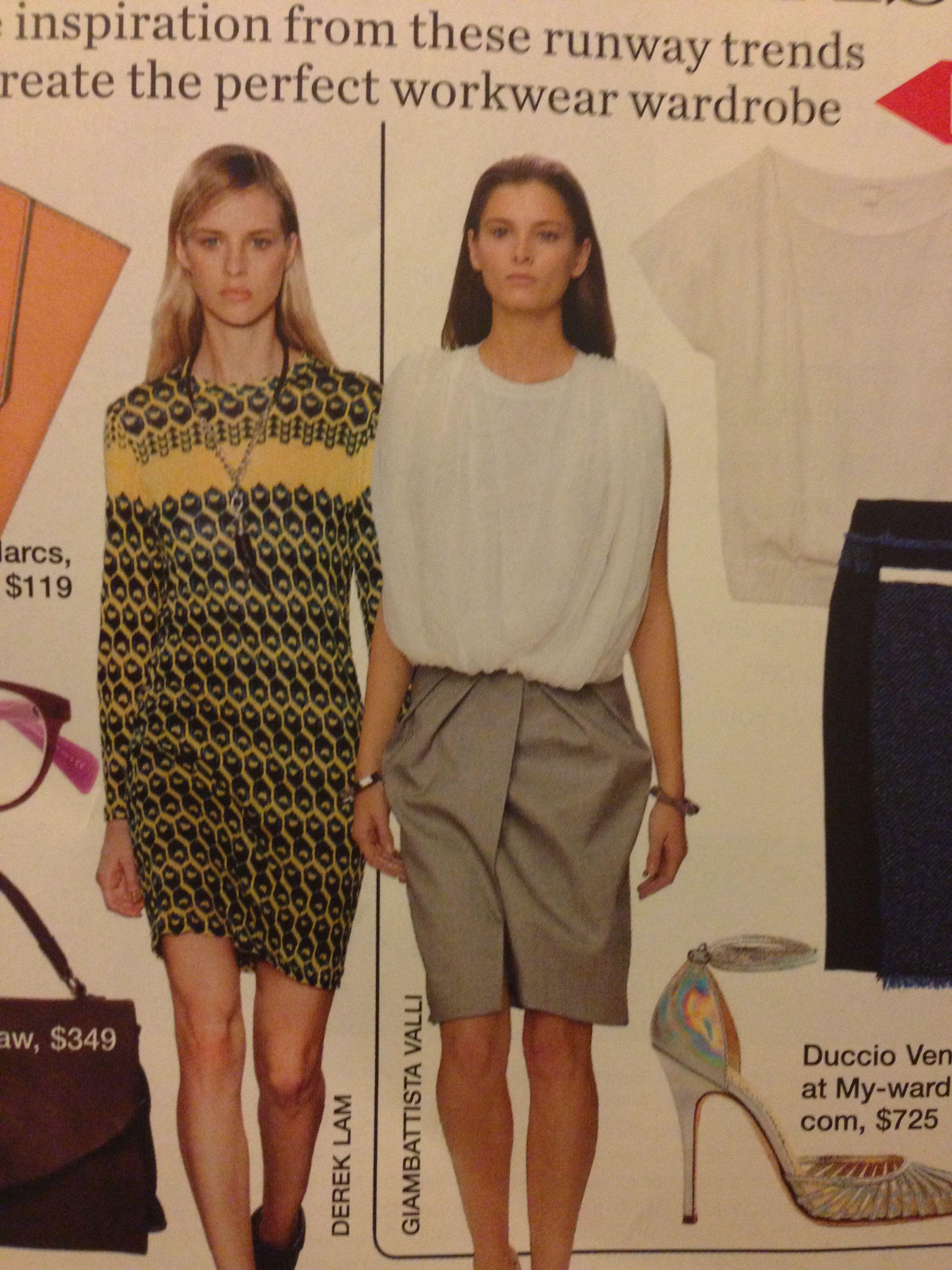 Valli skirt & gathered tee