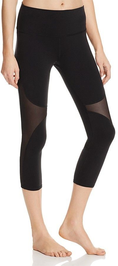 ef3c60cb9ca2e Alo Yoga High Waist Coast Crop Leggings | Products | Yoga leggings ...