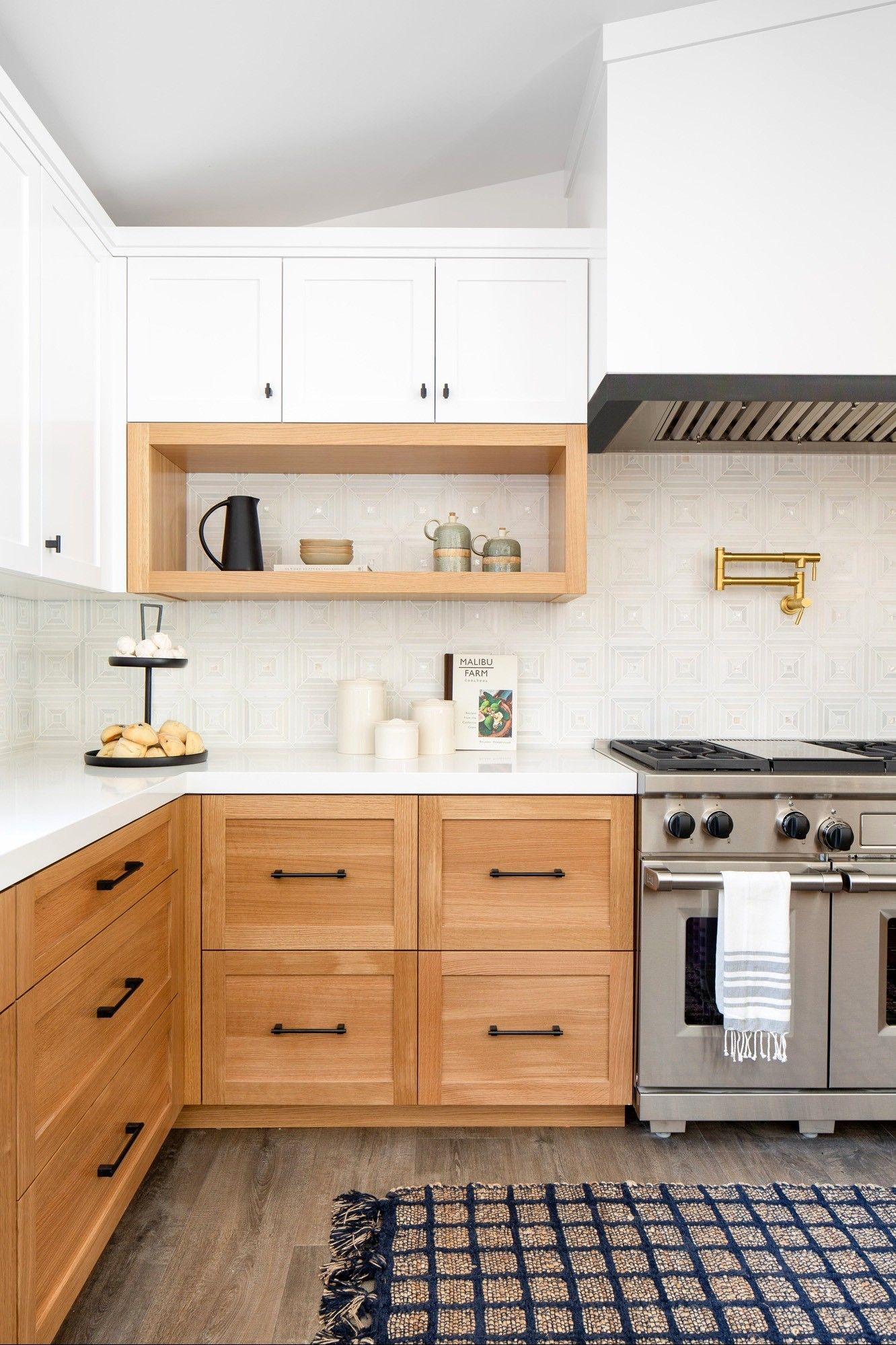 Pin by Heather Nguyen on Home 202 in 2020   Maple kitchen ... on Maple Kitchen Cabinets With Black Countertops  id=70924