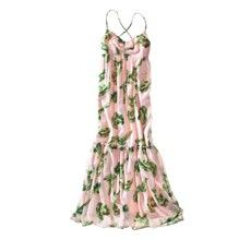 The Webster Miami for Target pink maxi with leaf print.  Size 16.