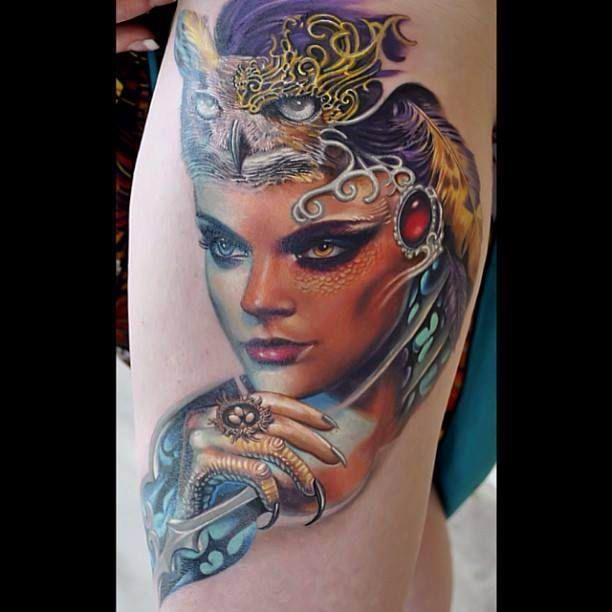 cleopatra tattoo ideas