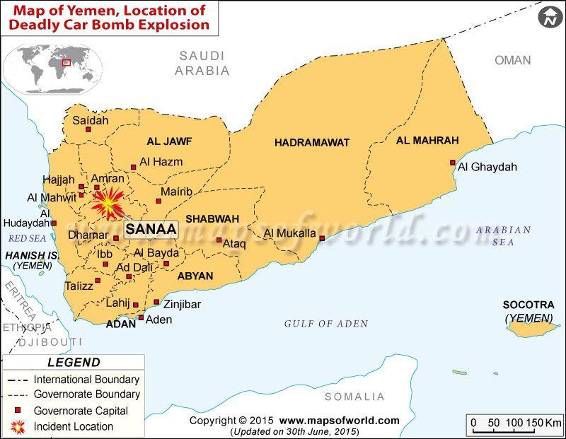 Cargo Plane Inferno Airstrikes hit Yemen Sanaa Int Airport World - fresh yemen in world map