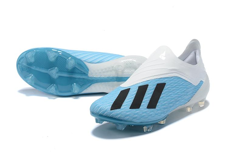 2019 adidas X 18+ FG White Blue