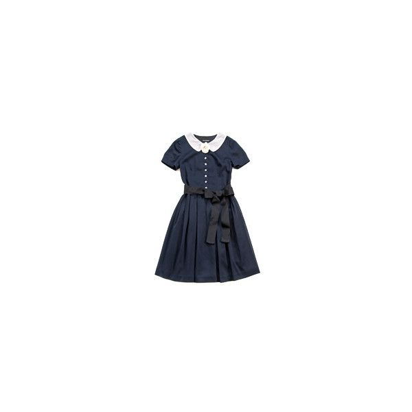 Jane Marple Online Shop :: Jane Marple Jane Marple Dans Le Salon... ❤ liked on Polyvore featuring dresses and blue dress