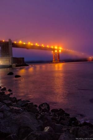 San Francisco, Californië: Golden Gate Bridge_  #Marcus493