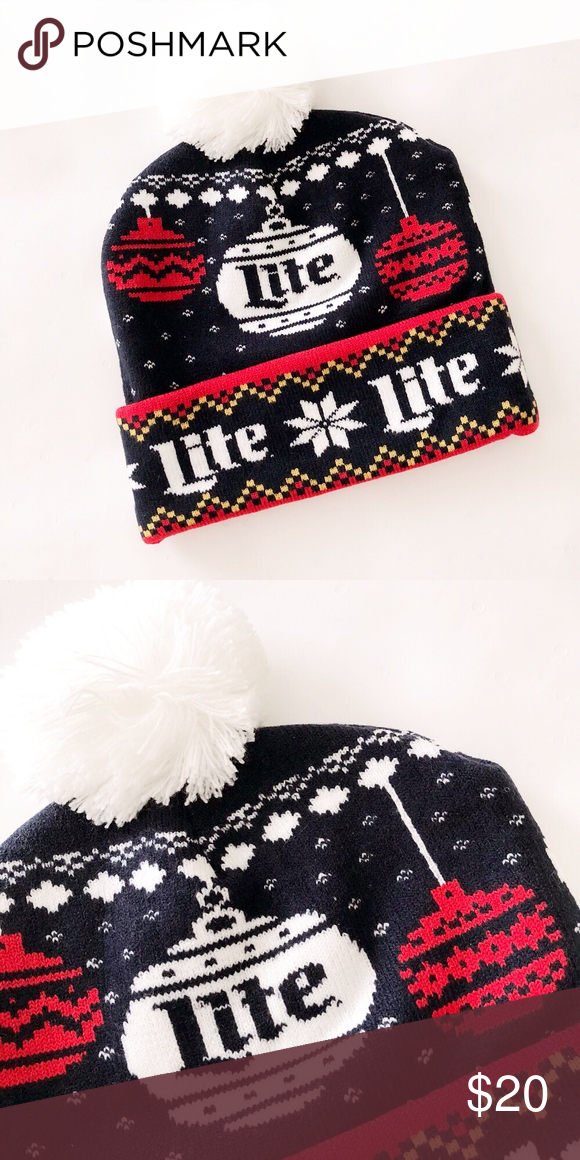 79061ce3a29fd Miller Lite Beer Winter Beanie Hat ❄️LIMITED EDITION 2018 MILLER LITE  WINTER BEANIE❄ ▫️Brand  Miller Lite ▫️Condition  Brand new without tag ...