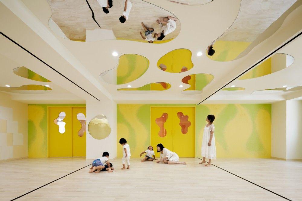 lhm kindergarten moriyuki ochiai architects pinterest cr che salles de sport et pantin. Black Bedroom Furniture Sets. Home Design Ideas