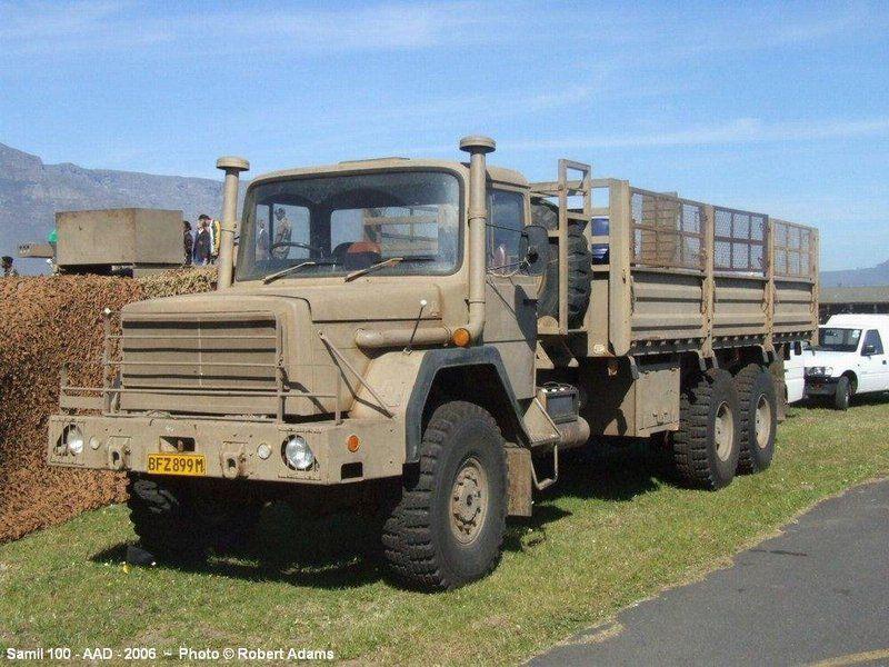 Samil 100 Magirus South African Army Army Truck Trucks