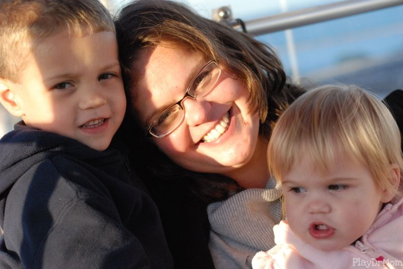 Me & the kids, Chicago, October 2010