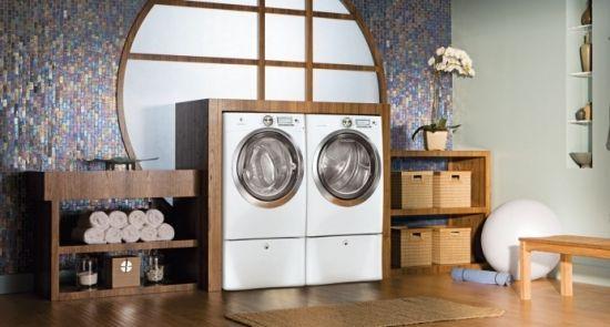 waschmaschine design waschküche-modern gestalten | wohnung, Kuchen dekoo