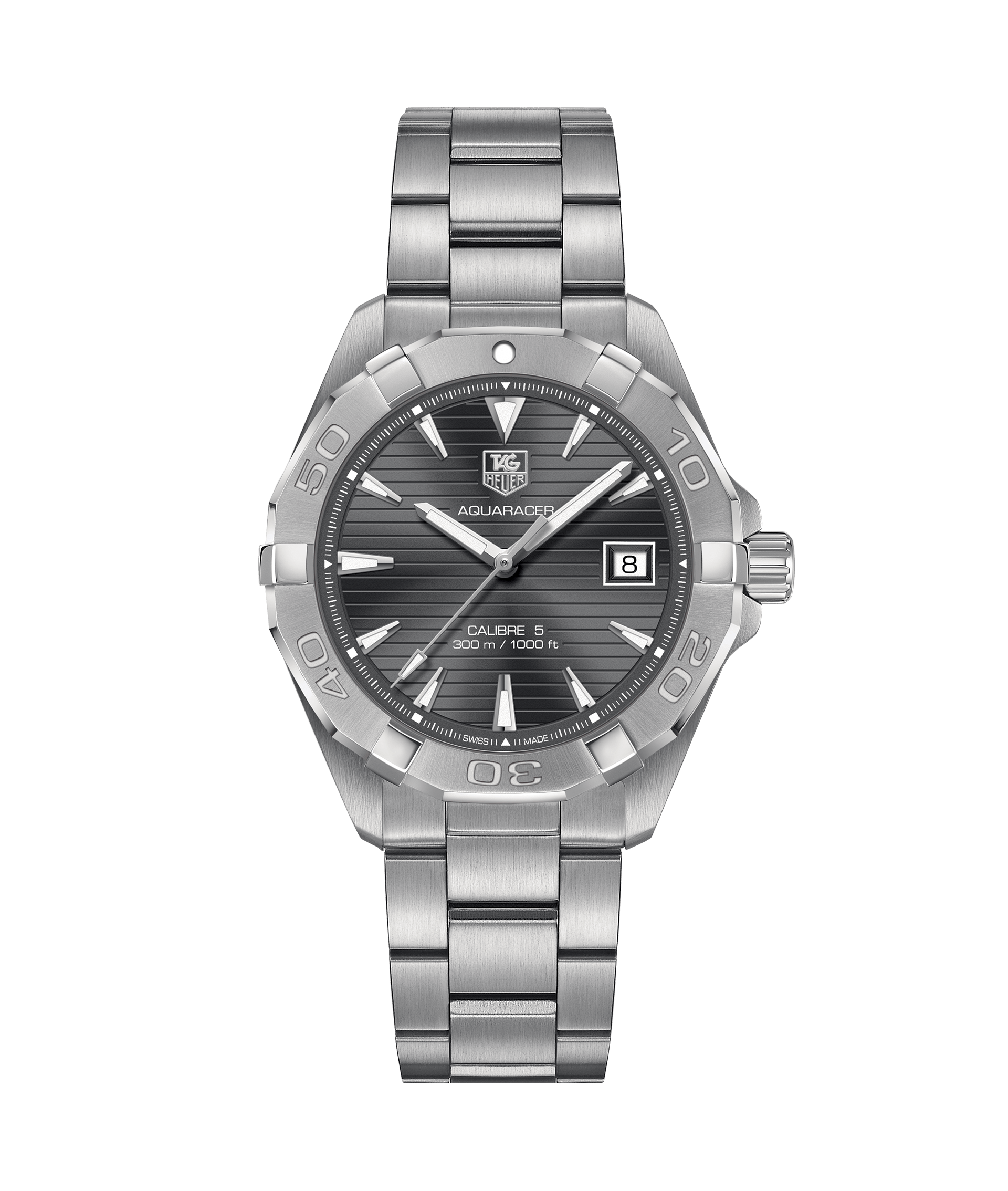 0aca1ae6c64 Aquaracer Calibre 5 Automatic Watch 300M - 40.5 mm WAY2113.BA0928 TAG Heuer  watch price