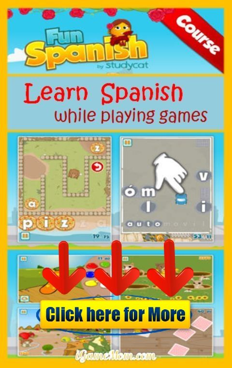Play Fun Games to Learn Spanish Fun Spanish App for