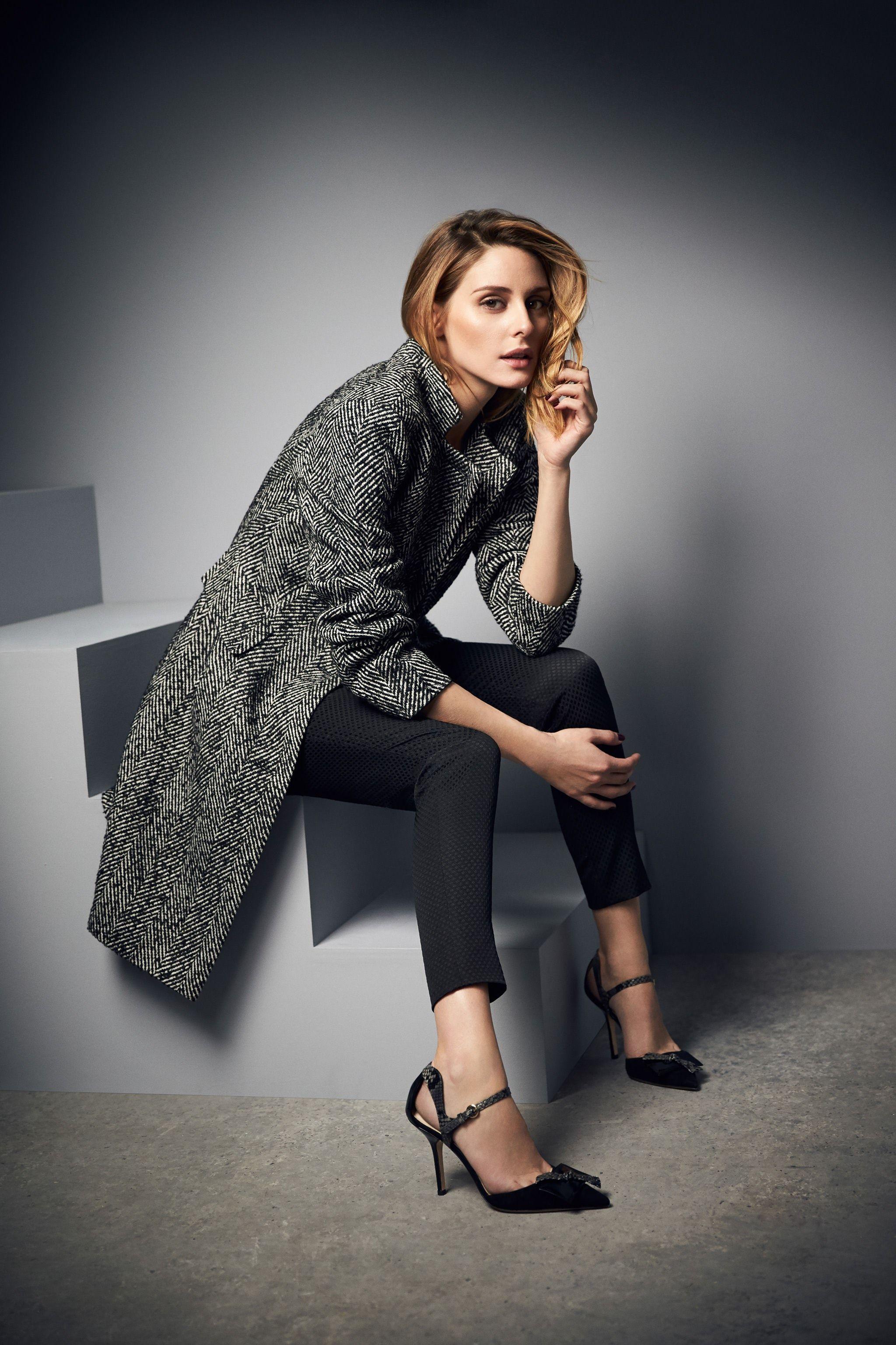 Olivia Palermo for AW16 Campaign | Rhea Coat