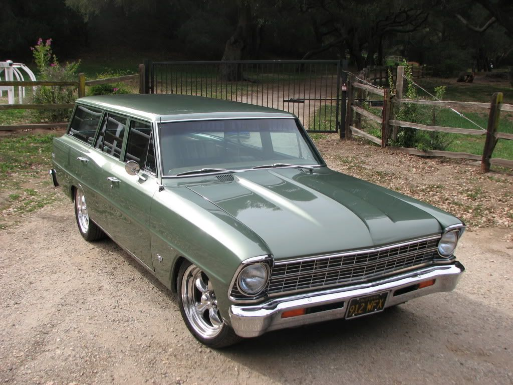 1967 Chevy Nova Wagon The SUV Before Term Was Invented Chevelle