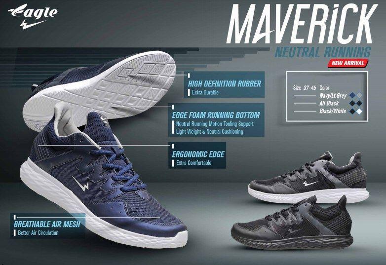Sepatu Lari Pria Eagle Force Running Produk Berkualitas Best