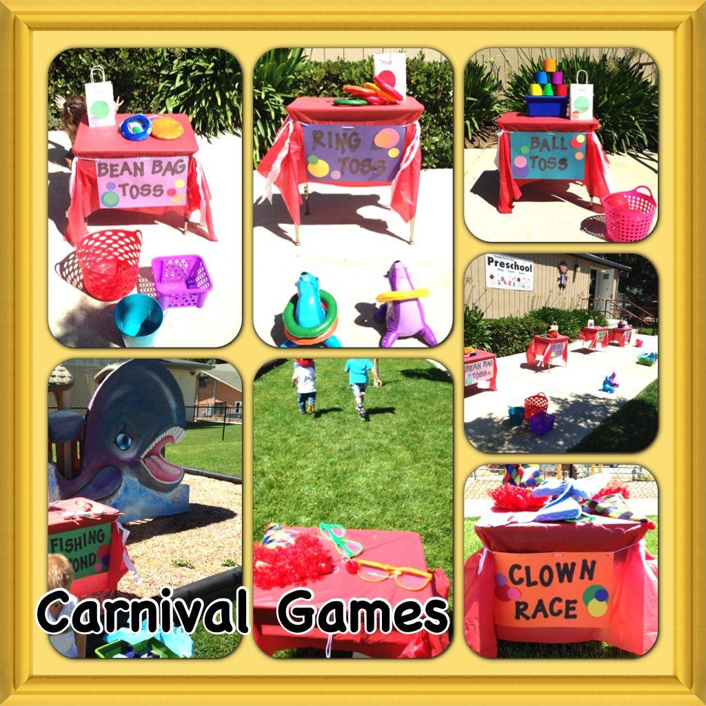 Preschool end of the year carnival party *carnival games | preschool ...