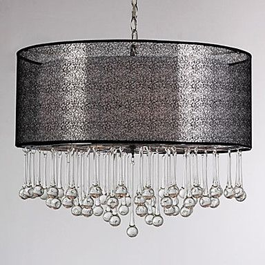 160w modern pendant light with 4 lights fissure style shade glass water droplet gotas de agua - Fisura lamparas ...