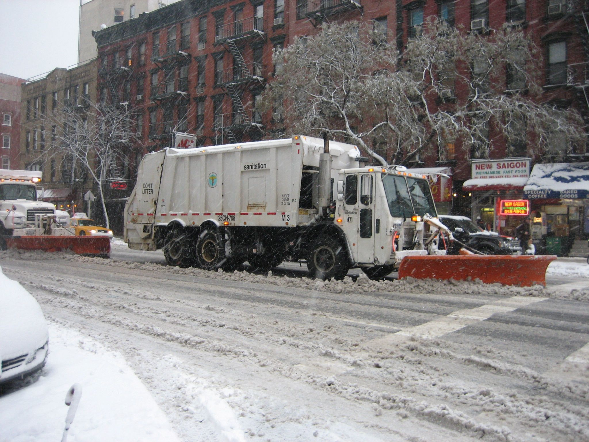 Beautiful nyc plow