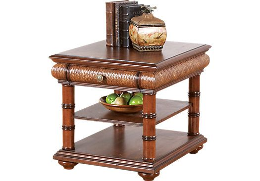 Shop For A Cindy Crawford Home Key West End Table At Rooms To Go