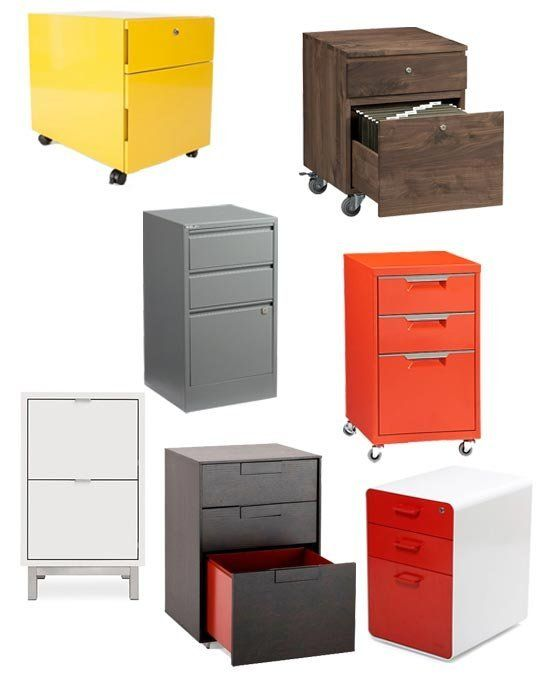 best under desk file cabinets 2013 — apartment therapy's annual