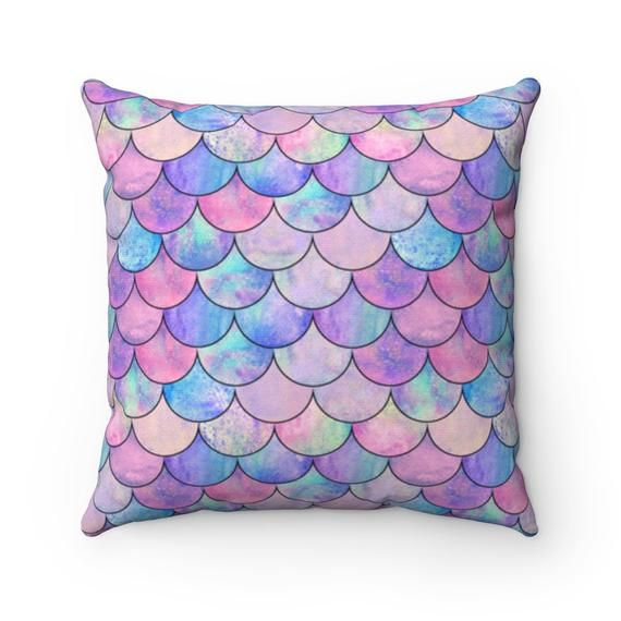 Mermaid Pillow, Cool Couch Pillow, Mermaid Gift Idea, Couch Pillow Idea, Mermaid Lover, Funny Gift I