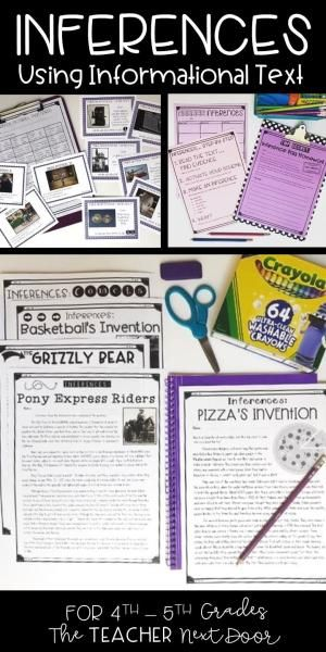 Inferences Using Informational Text Is A 70 Page Set Filled With