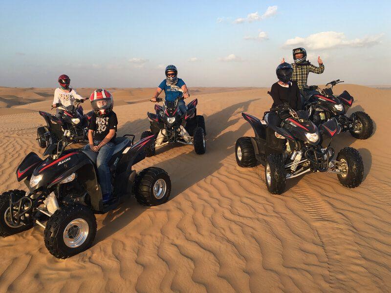 Quad Bike Atv Family Ride In Doha Qatar Quad Bike Atv Quads