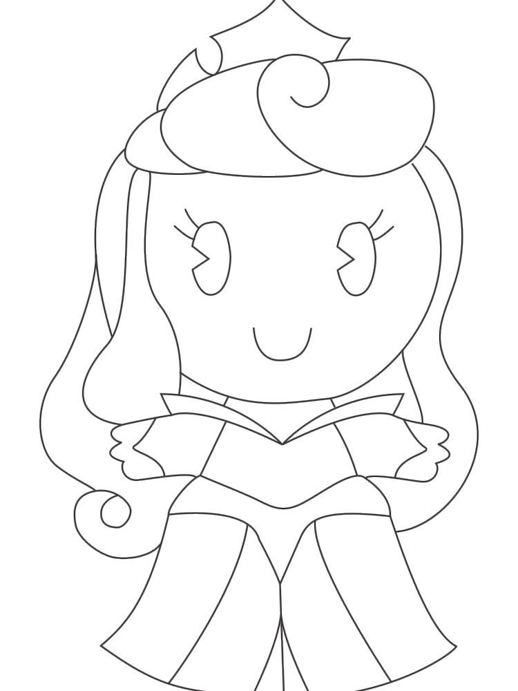 Disney Princess Cuties Coloring Pages Pdf Disney Cuties Are Disney Character In This Case Princess Dep Coloring Pages Disney Princess Cartoon Coloring Pages