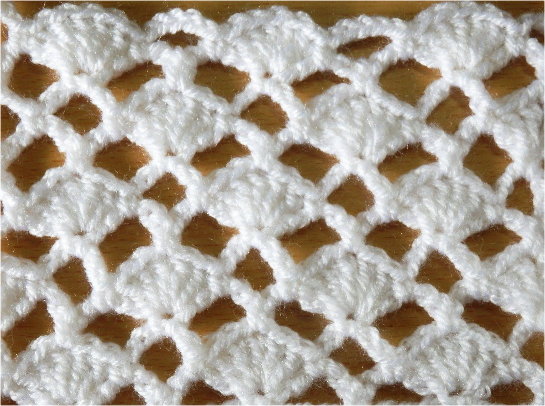 かぎ編みの模様編み 2 How to Crochet Pattern | videos de puntadas ...
