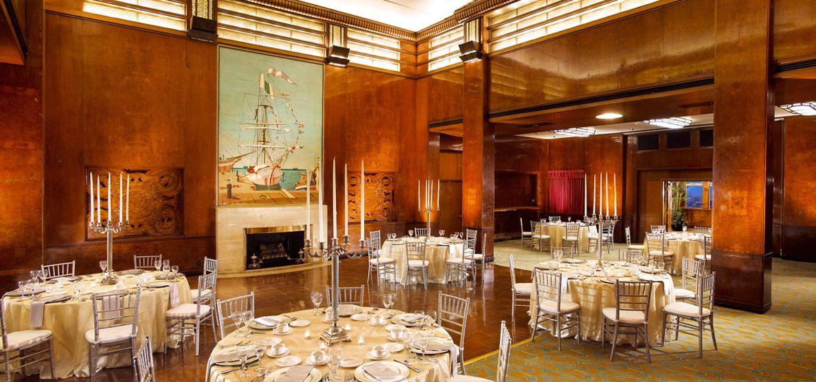Art Deco Reception Decorations