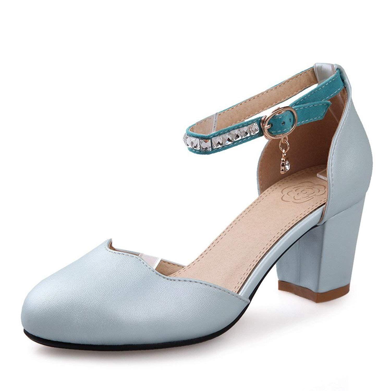Balamasa Womens Buckle Solid Kitten Heels Sandal Shoes Balamasa Is A Women Shoes Brand Women S Shoes Pumps S Kitten Heel Sandals Womens Shoes Pumps Heels