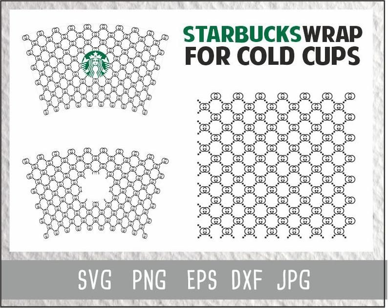 Gucci Starbucks Cup Svg Gucci Logo Starbucks Cold Cup Svg Etsy In 2020 Starbucks Cups Personalized Starbucks Cup Cold Cup
