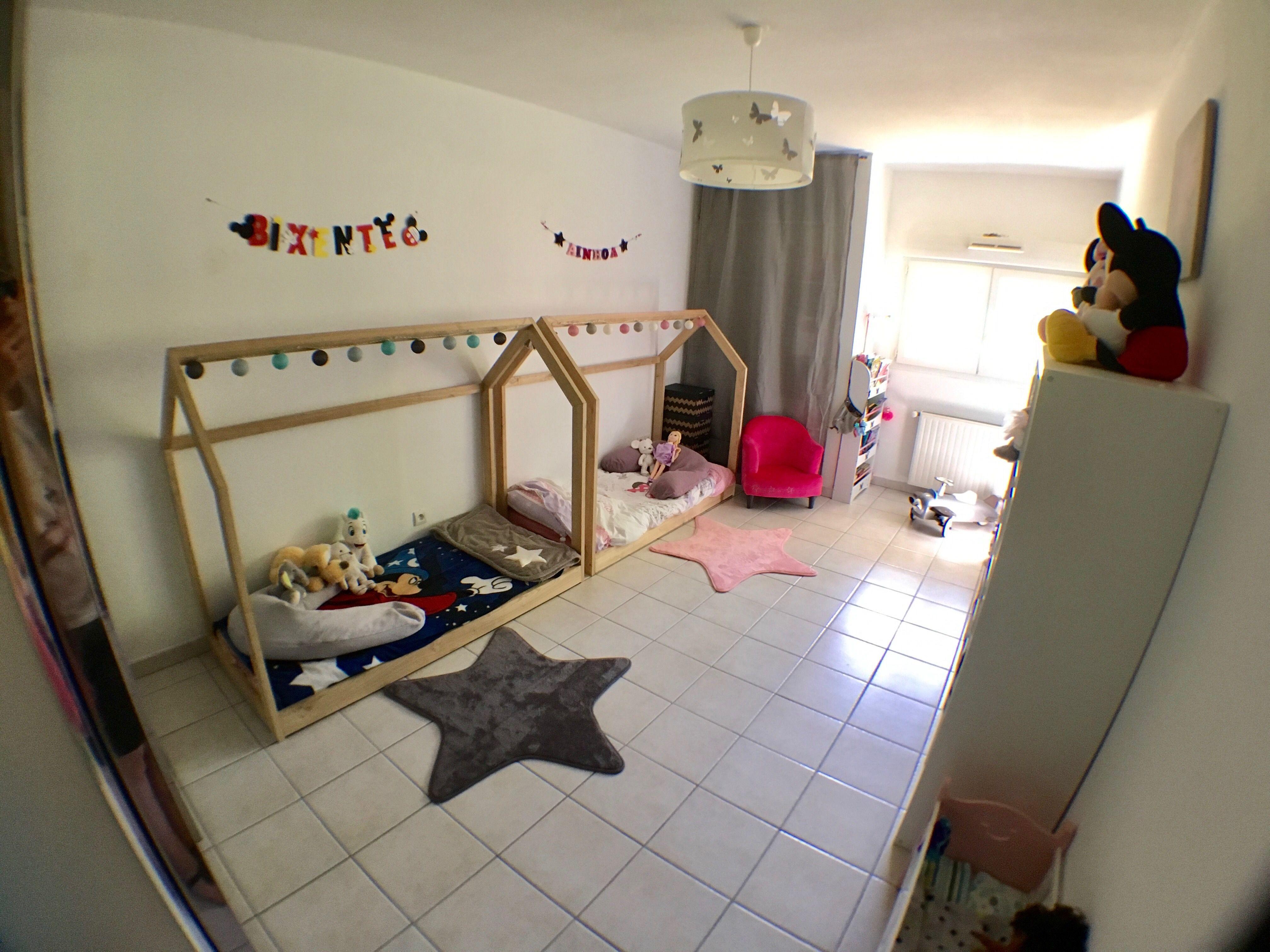 Chambre des enfants Avec lit cabane Chez nous