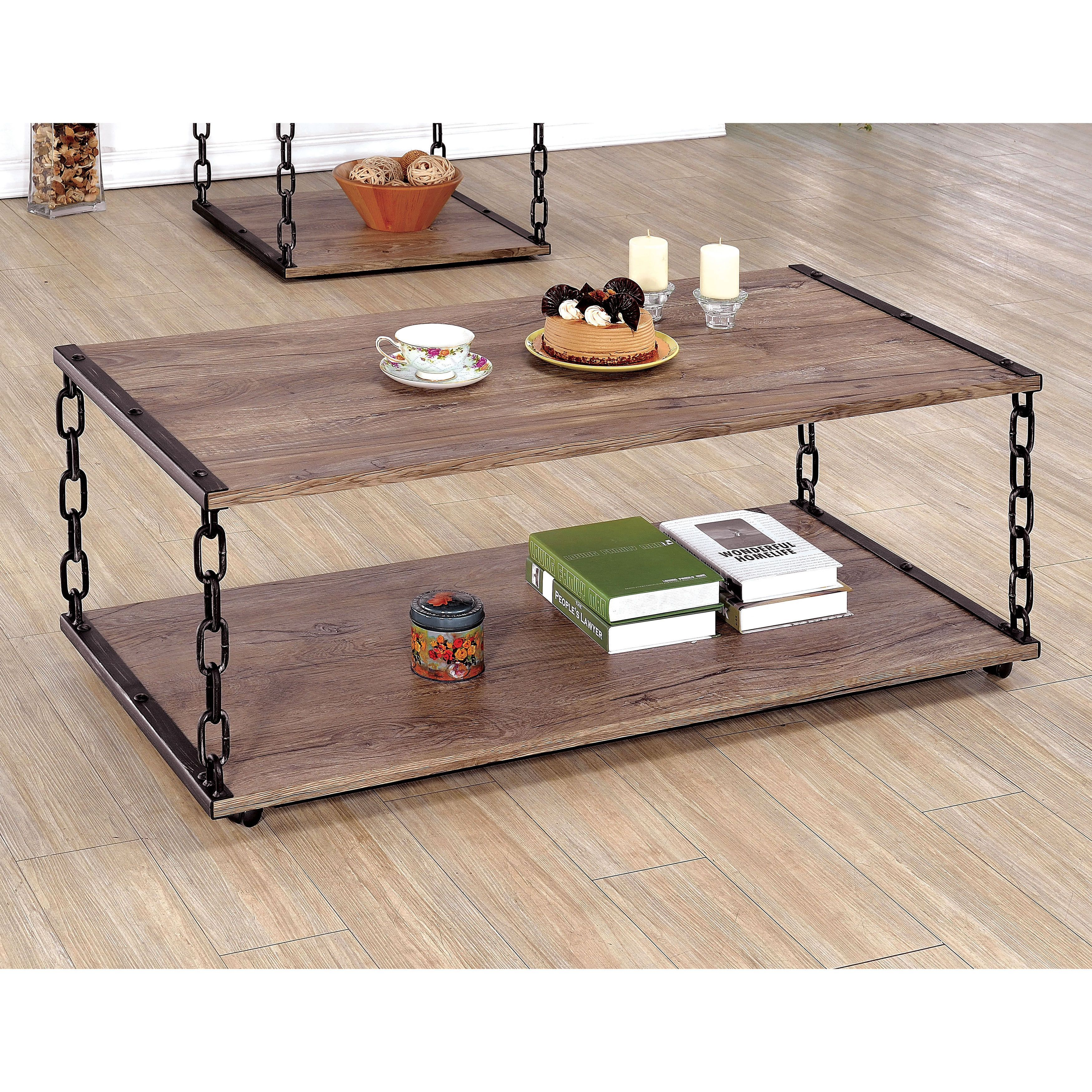 Create A Living Space With Unparalleled Style By Placing This Two Tone Industrial Inspired Coffee T Diy Coffee Table Coffee Table Farmhouse Coffee Table Design [ 3500 x 3500 Pixel ]