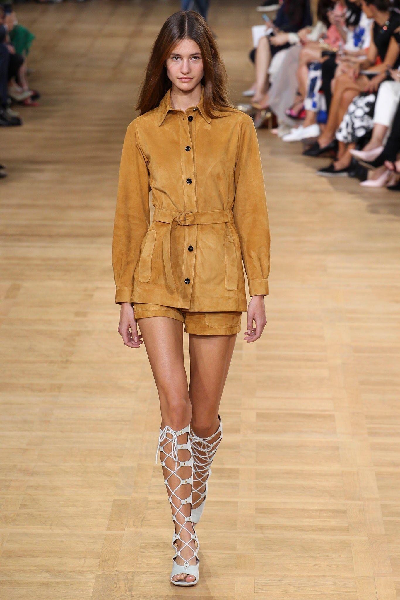 Chloé Spring 2015 Ready-to-Wear Fashion Show - Madi Fogg (Silent)