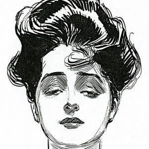 An Iconic Gibson Girl Portrait by Charles Dana Gibson