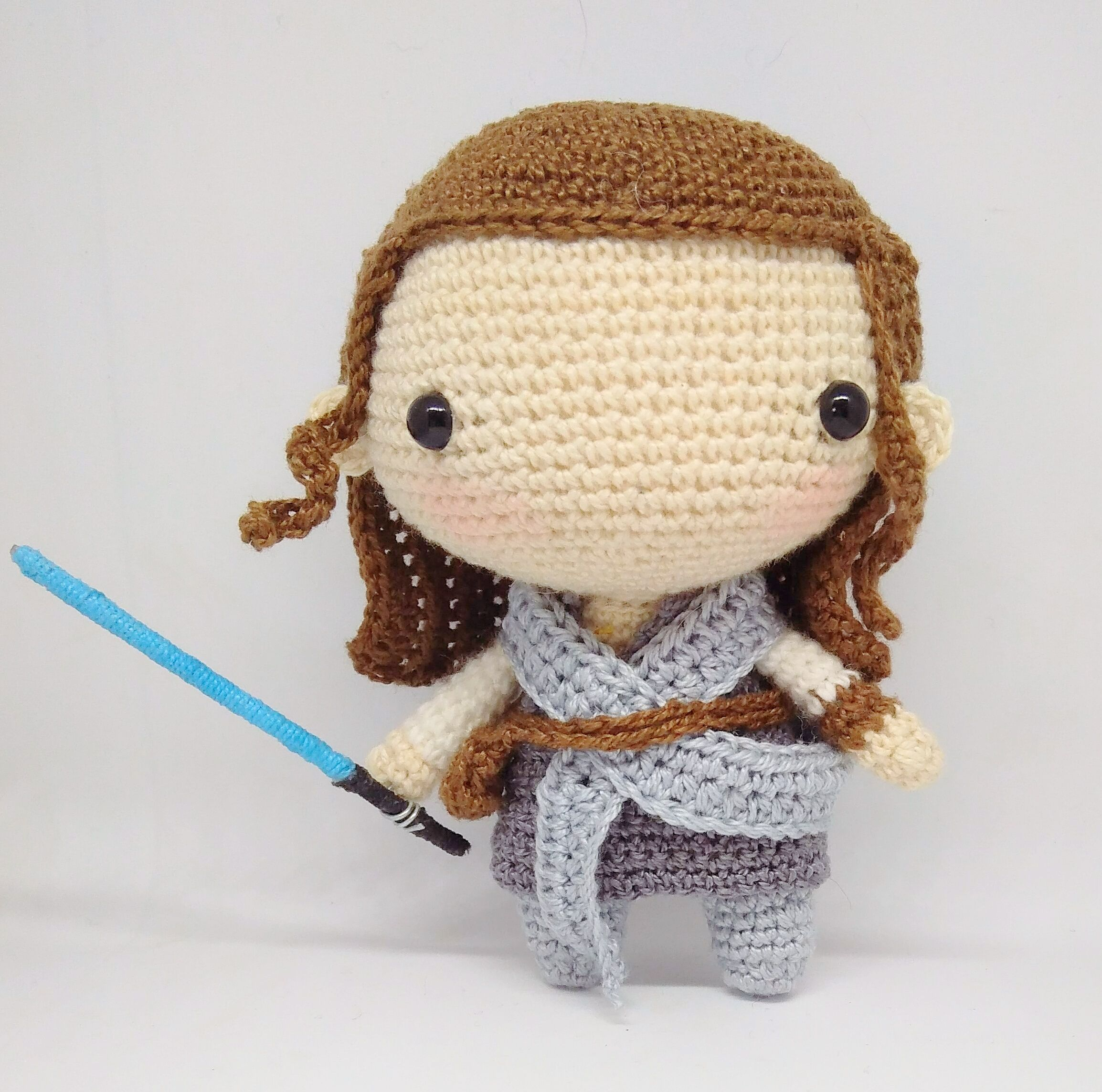 "***Girl/'s Star Wars /"" REY/"" Crochet  Hat all sizes***"