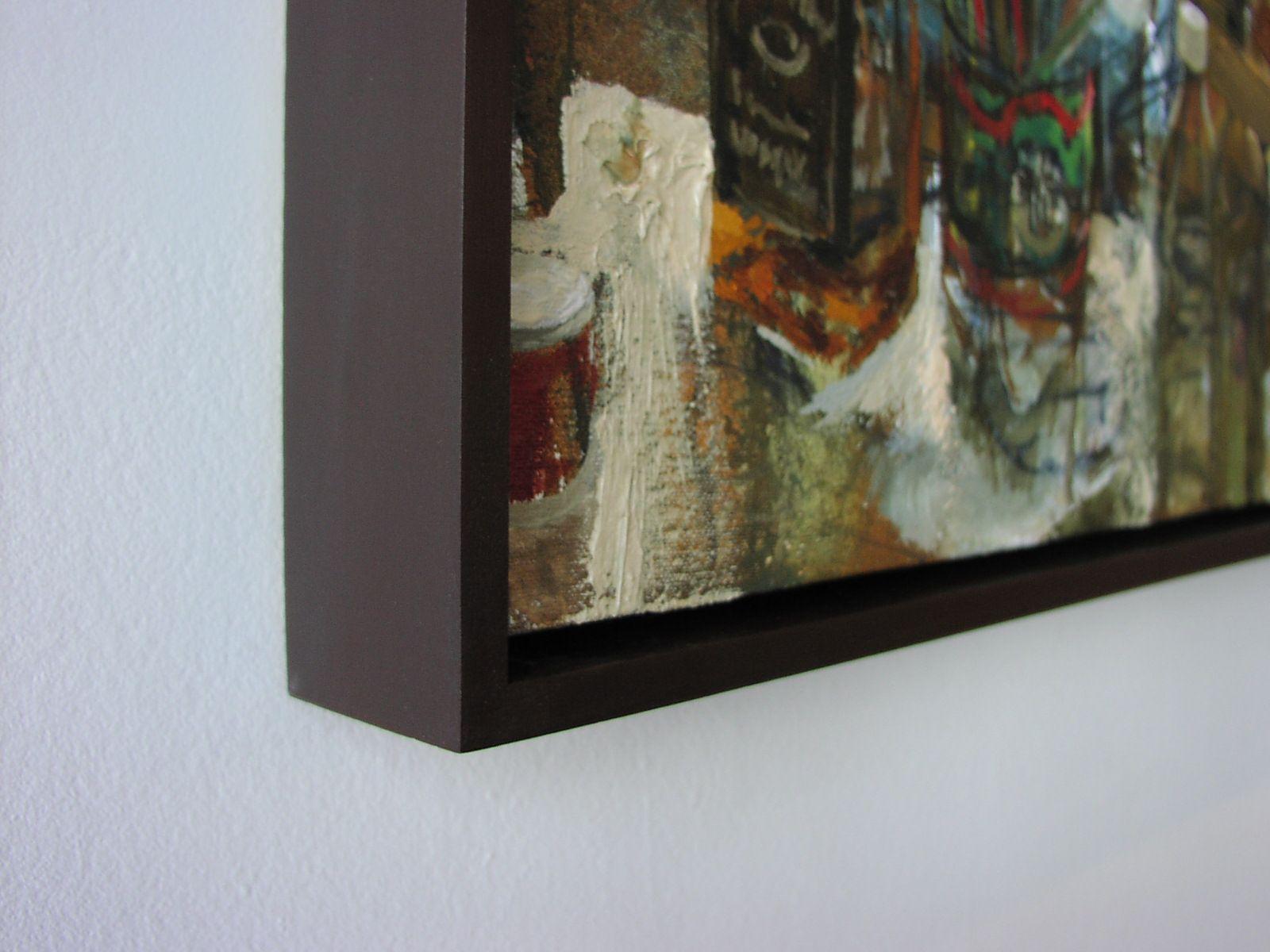 Canvas Floater Frame Modern Present Day