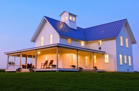 Farm House Designs For Getaway Retreats . . . Pastoral Perspectives!