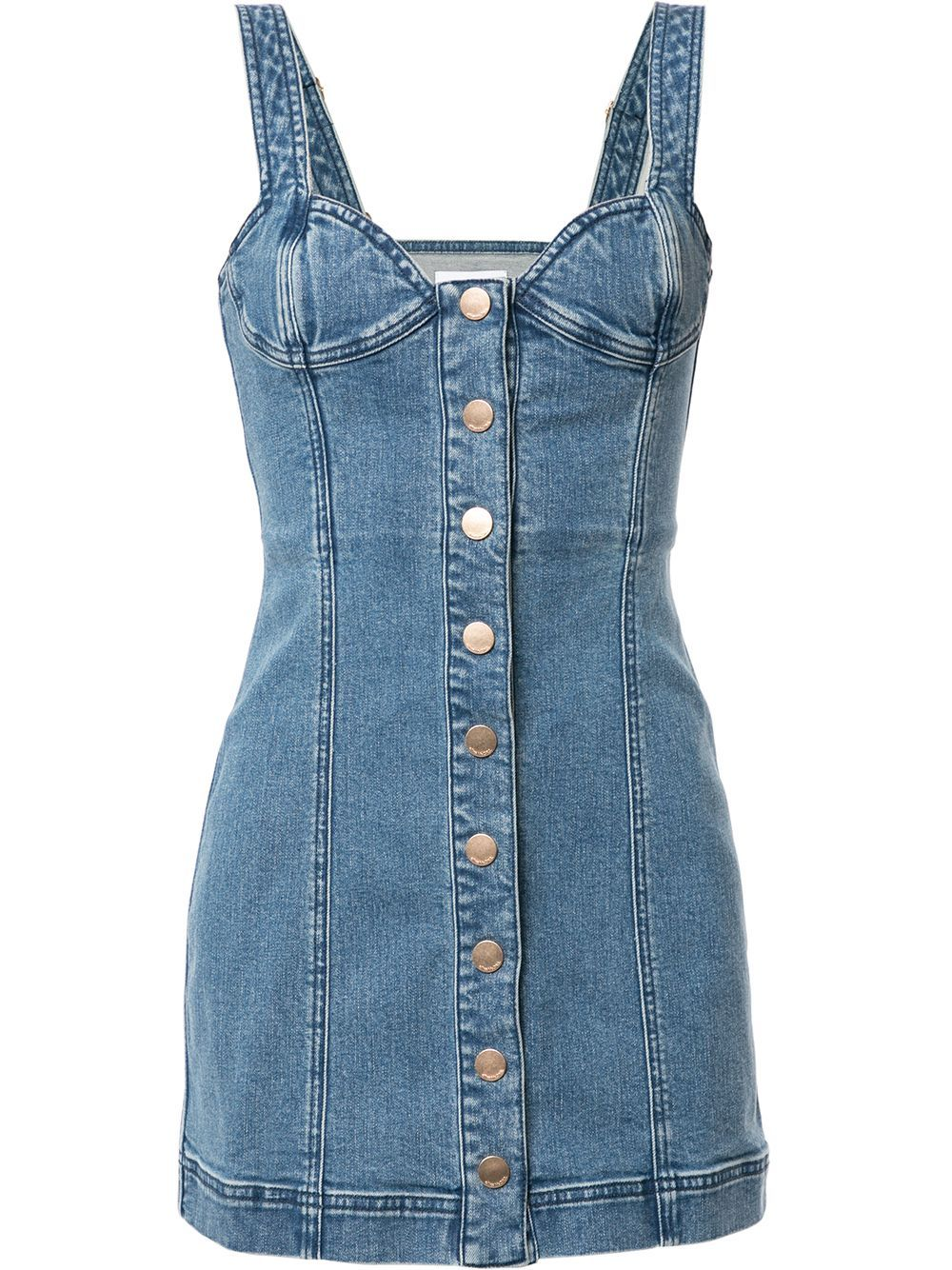 Alice Mccall Mystical Moments Bustier Denim Mini Dress Farfetch Denim Mini Dress Denim Dress Outfit Summer Dress Outfits [ 1334 x 1000 Pixel ]