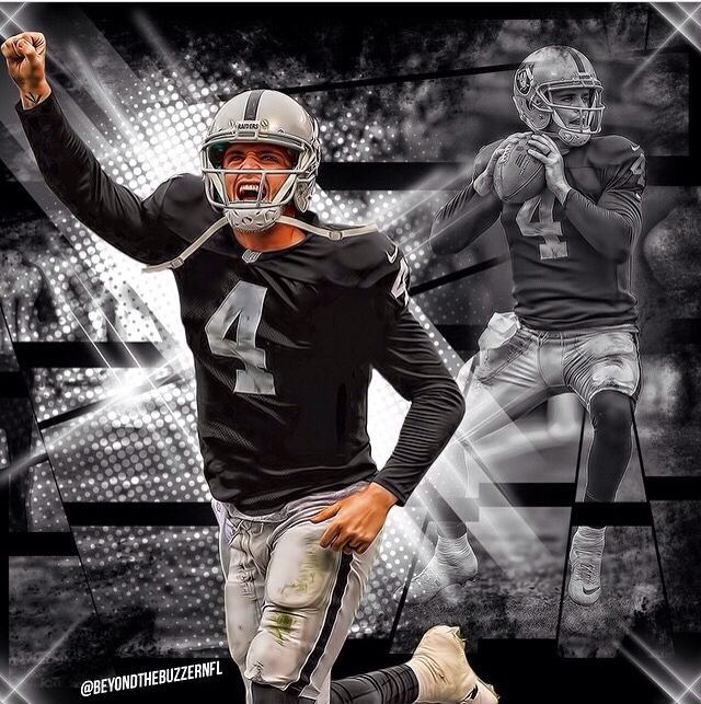 Free Oakland Raiders Wallpapers: Derek Carr (BeyondthebuzzerNFL)