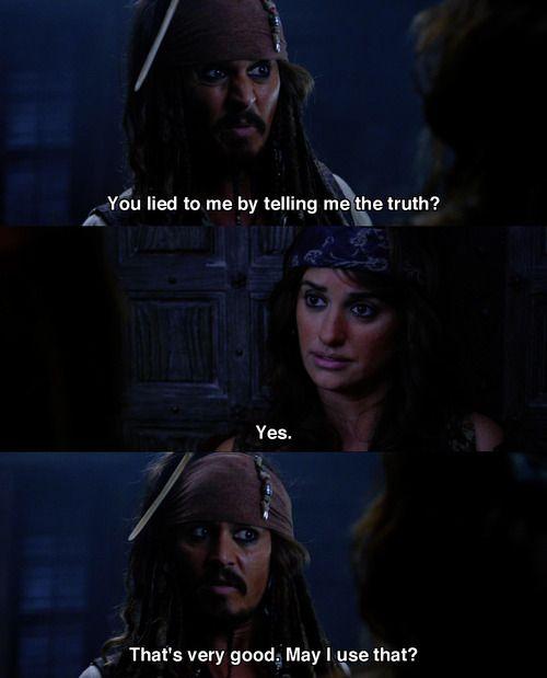 Let S Go To The Movies Fluch Der Karibik Jack Sparrow Zitate Captain Jack