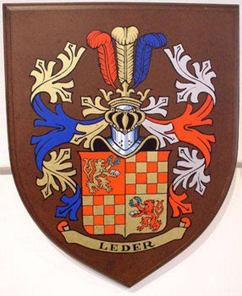 Turopolje Coat Of Arms Leder From Croatia Turopolje Grb