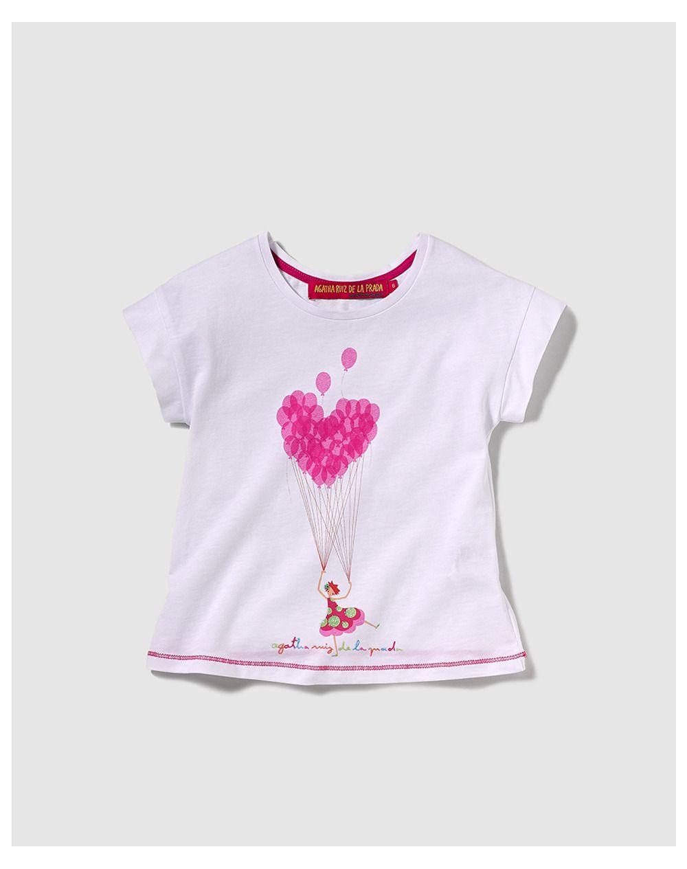 8 Días de Oro Infantil - Camiseta de niña Blanco | Moda El Corte Inglés