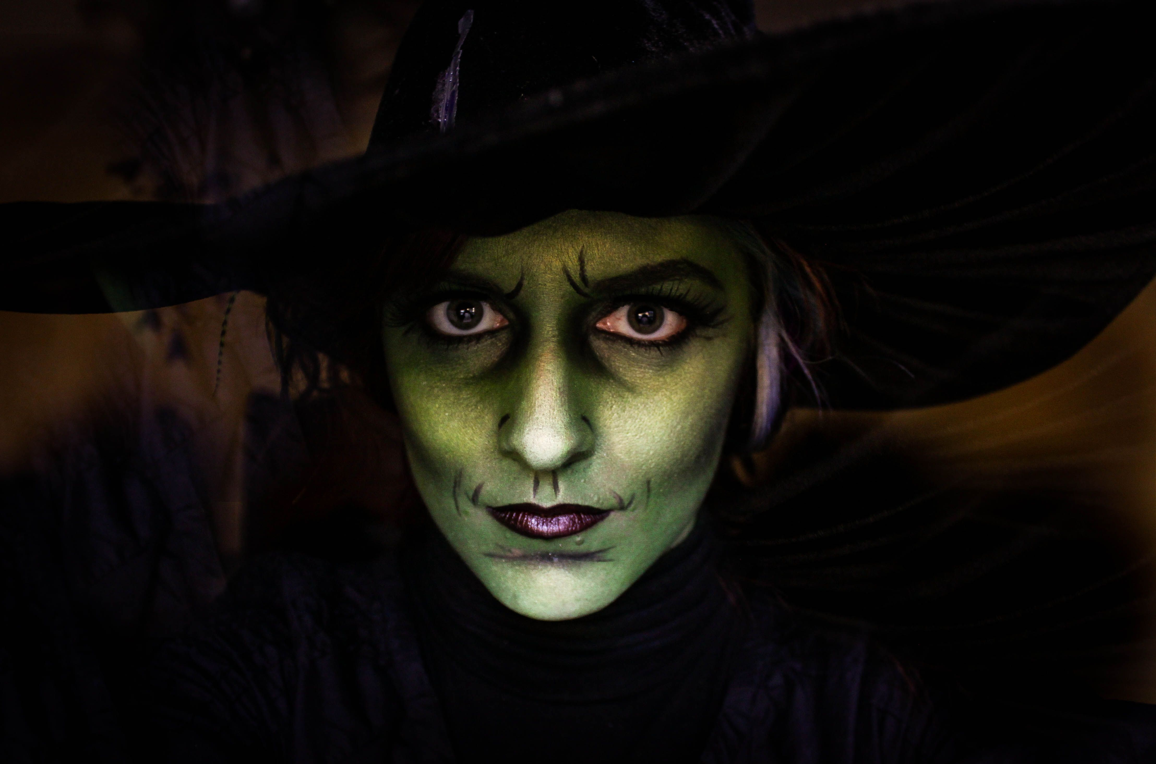 wicked witch wizard of oz costume makeup by: Cole Photography ...
