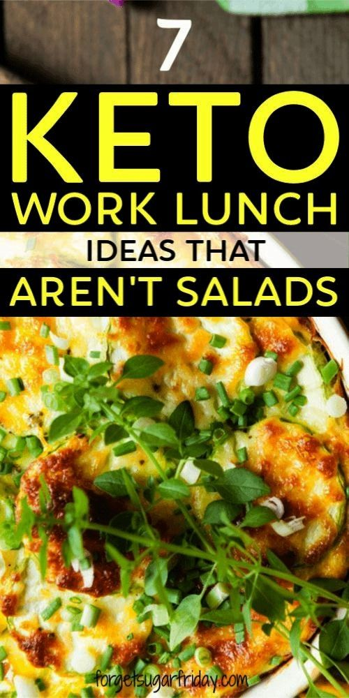 of eating salads for lunch?! If you want keto work lunches that ARENT salads, this post is for you