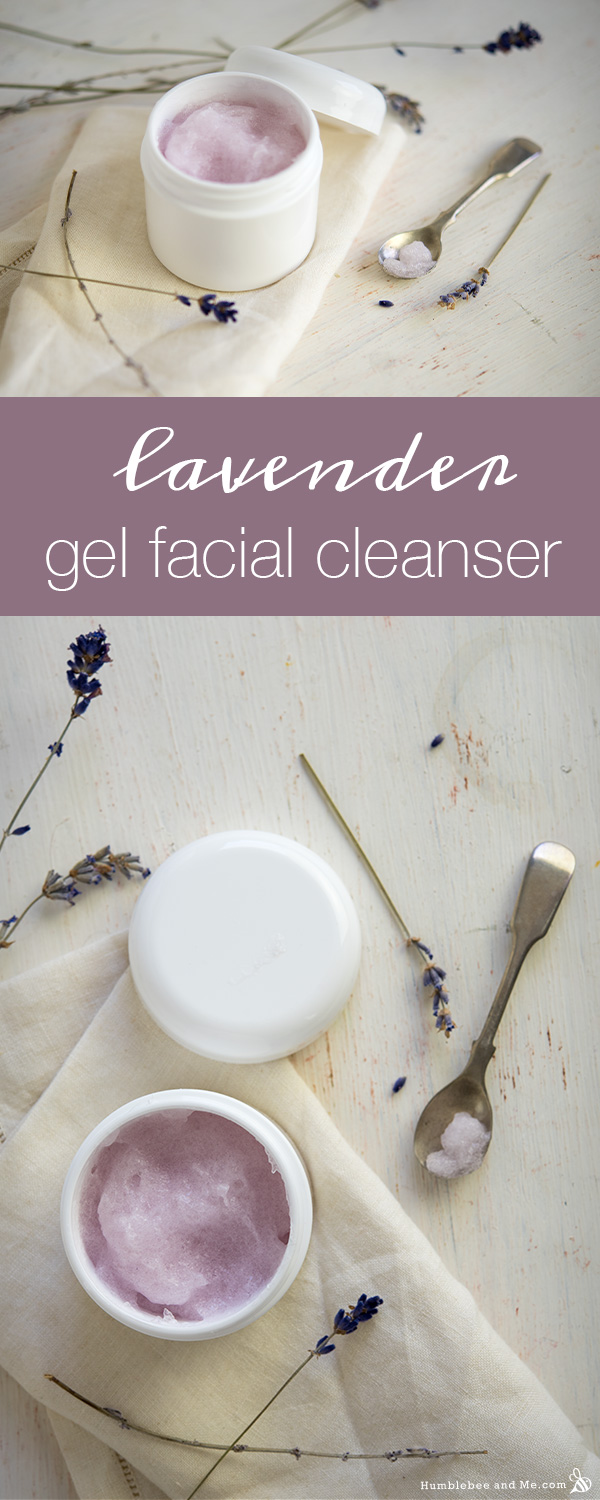 Photo of Lavender Gel Facial Cleanser – Humblebee & Me