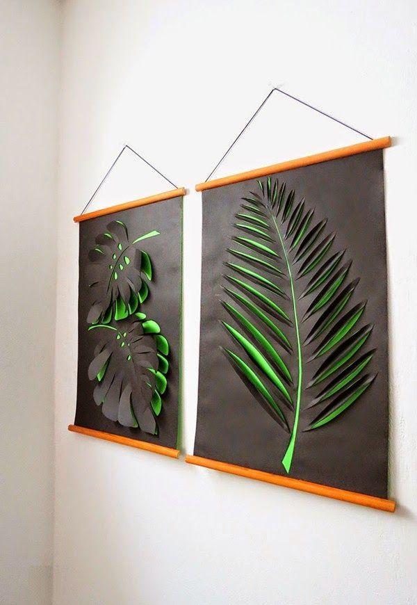 Haz unas pantallas 3D decorativas para pared ~ Mimundomanual