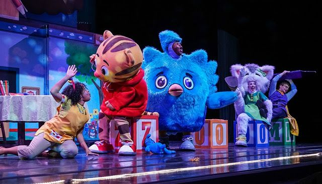 The hugely popular Daniel Tiger's Neighborhood LIVE!, based on the
