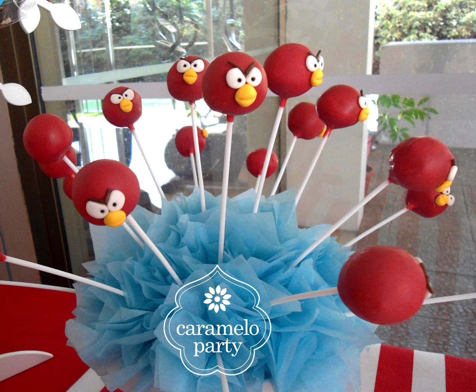 Caramelo Party: Fiesta Red Angry Bird